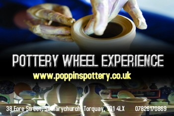 Adult Pottery Wheel Experience Voucher