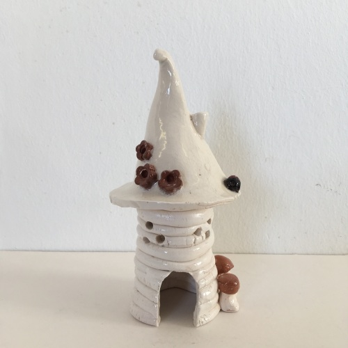 Ceramic fairy house