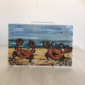 Crab Standing Plaque