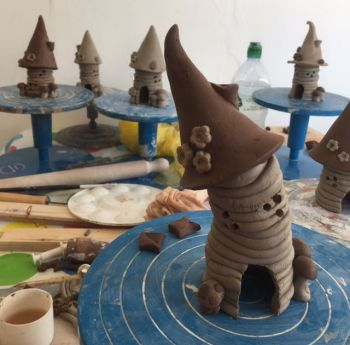 12 Week Pottery Course  -  Tuesdays 10.30am-12.30pm  -  Starting 3rd September 2019