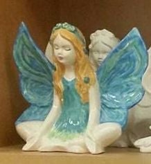 Paint Your Own Crossed Legged Fairy