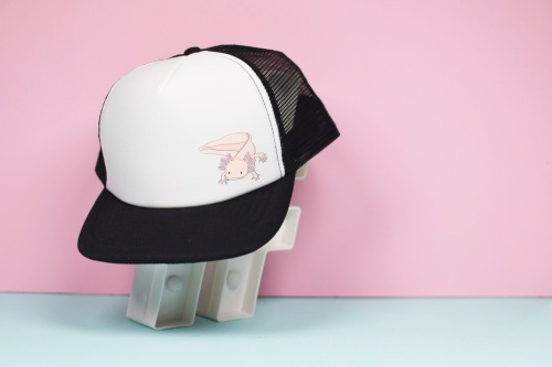 Axolotl Trucker Hat