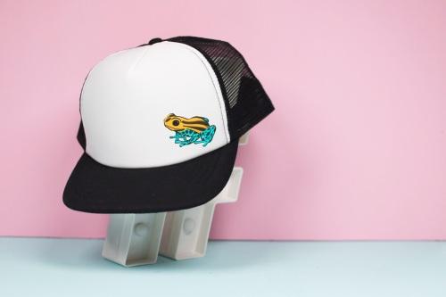 Dart Frog Trucker Hat