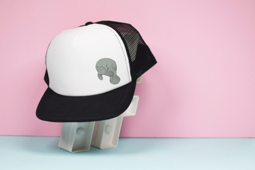 Manatee Trucker Hat