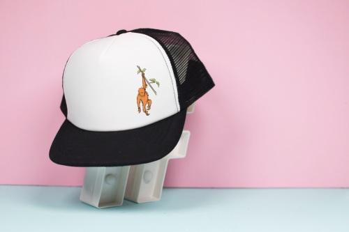 Orangutan Trucker Hat