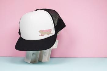 Pink Fairy Armidillo Trucker Hat