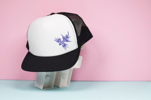 Blue Dragon Sea Slug Trucker Hat