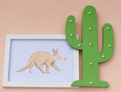 Aardvark A4 Print