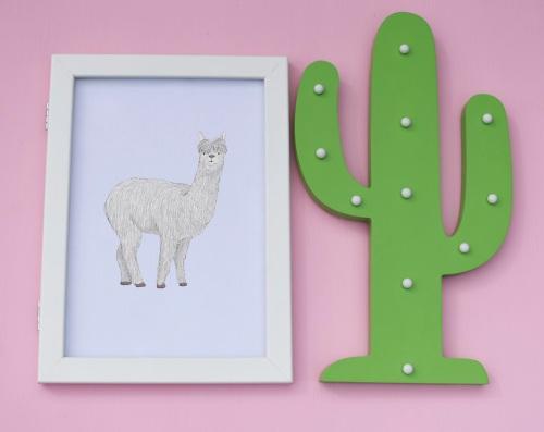 Alpaca A4 Print