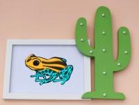 Dart Frog A4 Print