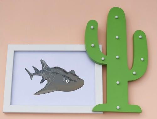 Guitarfish A4 Print