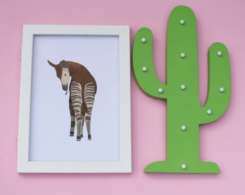 Okapi A4 Print