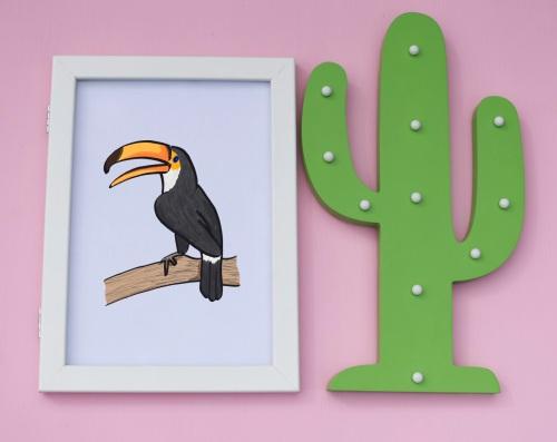 Toucan A4 Print