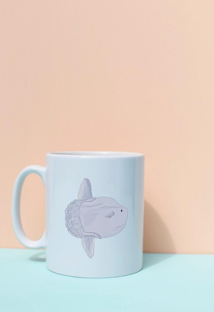 Sun Fish Mug