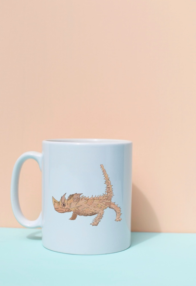 Thorny Dragon Mug