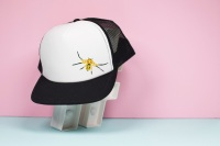 8 Spotted Crab Spider Trucker Hat