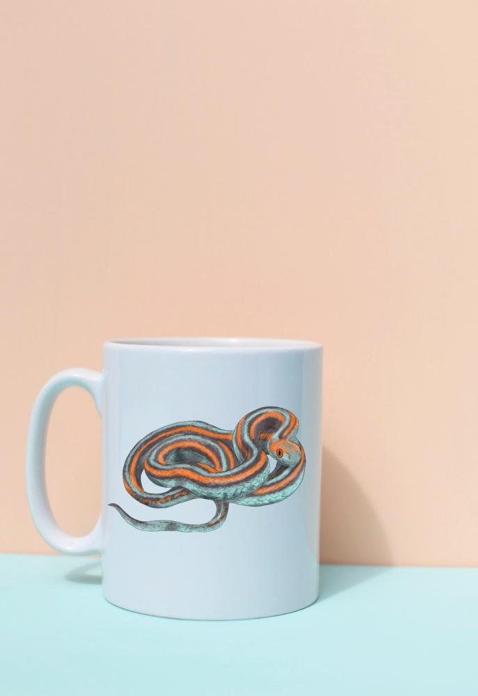 San Francisco Garter Snake Mug
