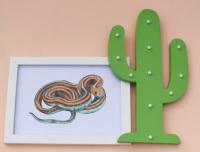 San Francisco Garter Snake A4 Print