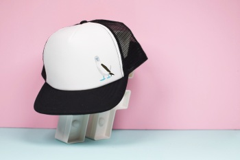 Blue Footed Booby Trucker Hat
