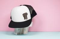 African Elephant Trucker Hat