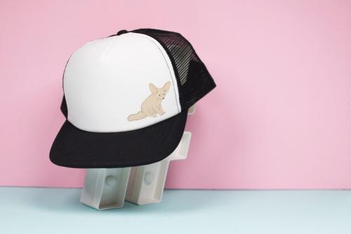 Fennec Fox Trucker Hat