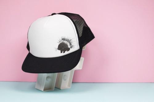 Porcupine Trucker Hat