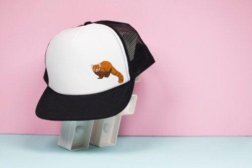 Red Panda Trucker Hat