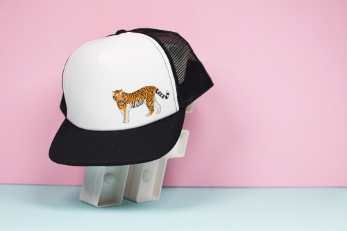 Tiger Trucker Hat