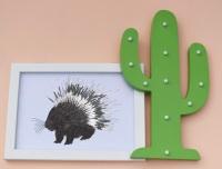 Porcupine A4 Print