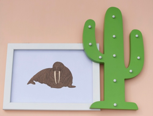 Walrus A4 Print