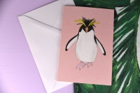 Rockhopper Penguin Card