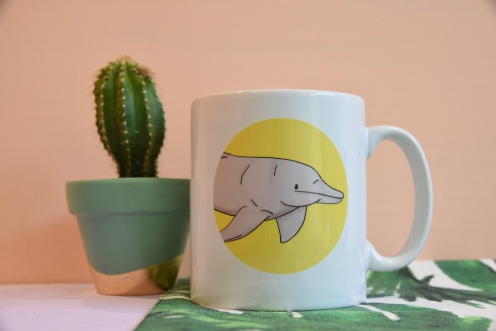 Amazon River Dolphin Mug