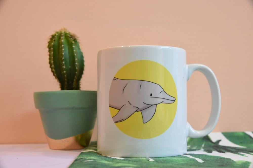 Amazon River Dolphin Mug