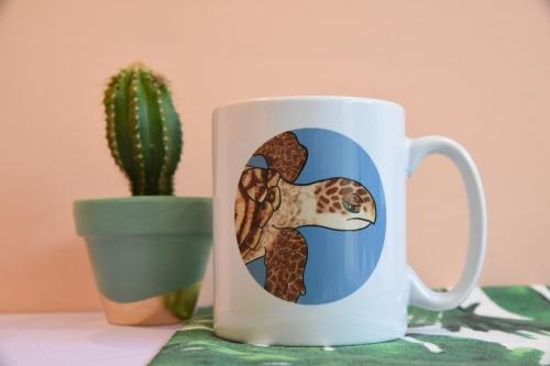 Hawksbill Turtle Mug