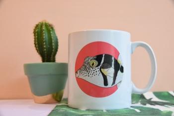 Saddled Pufferfish Mug