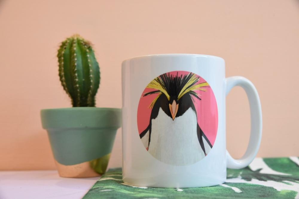 Rockhopper Penguin Mug