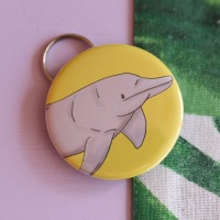 Amazon River Dolphin Keyring