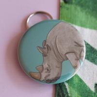 Rhino Keyring