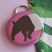 Tapir Keyring