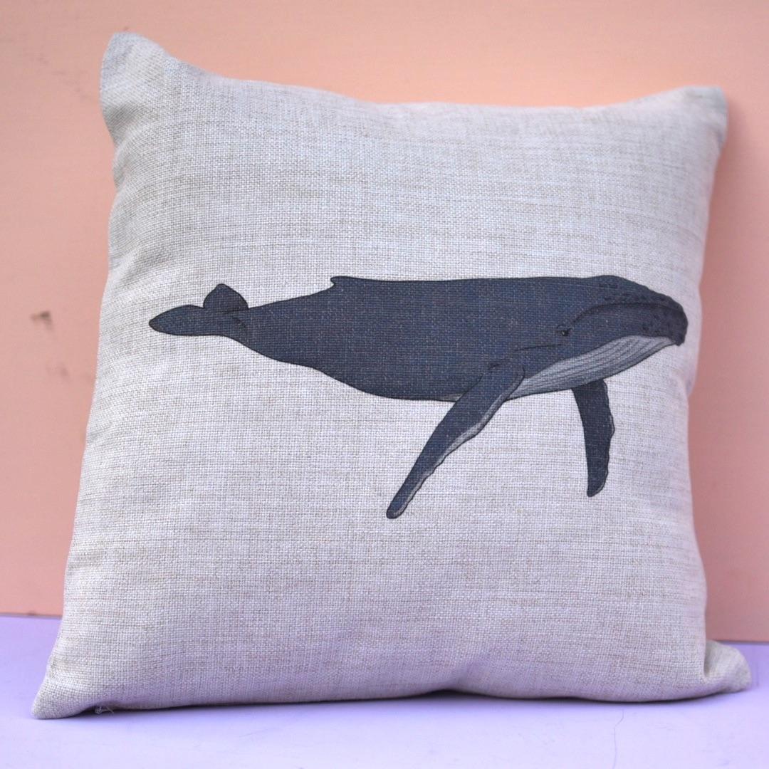 Humpback Whale Cushion