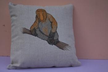 Proboscis Monkey Cushion