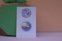 Blob Fish 25mm Badge
