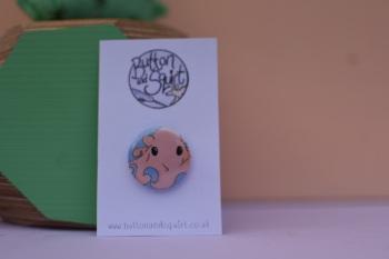 Dumbo Octopus 25mm Badge