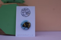 Bumblebee 25mm Badge