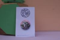 Ringtail Lemur 25mm Badge