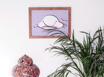 Blob Fish Poster