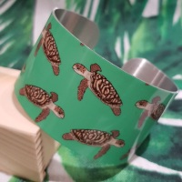 Hawksbill Turtle Bangle