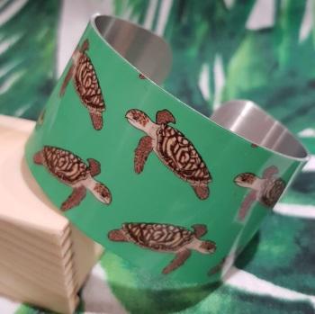 Hawksbill Turtle Bangle