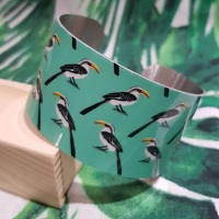 Yellow Billed Hornbill Bangle