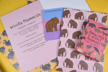 Woolly Mammoth A5 Notebook